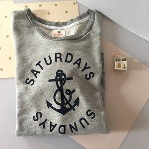 🆕 {Sundry} Saturday/Sunday Sweatshirt. NWOT